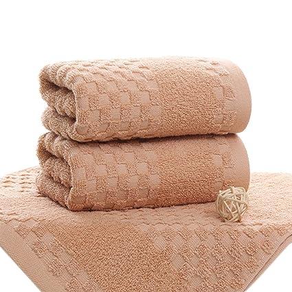pidada algodón Toallas de mano de cuadros patrón Super suave muy absorbente toalla de lujo para