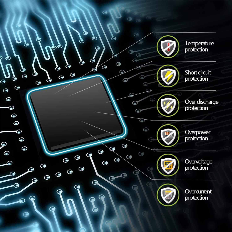 CENXINY scaldamani Ricaricabile 6000 mAh Portatile Power Bank Doppio Lato riscaldante Elettrico scaldamani USB Riutilizzabile Regalo per Donne e Ragazze