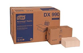 Tork DX990 avanzada Plus Xpressnap dispensador de servilletas, Interfold, 2 capas, blanco, (Pack de 12): Amazon.es: Hogar