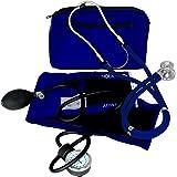 Dixie Ems Blood Pressure and Sprague Stethoscope Kit (Royal Blue)