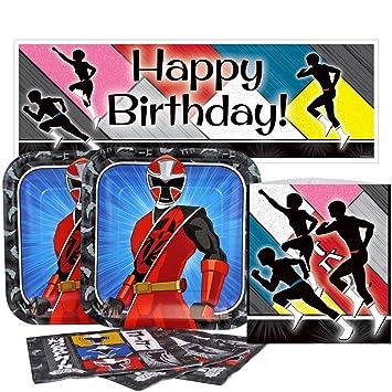 Amazon.com: Birthday Direct Power Rangers Ninja Steel Value ...