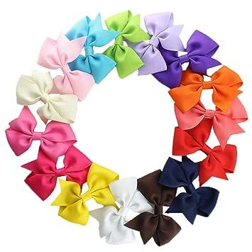 15 Piezas Pinza De Pelo Para Las Niñas Chicas Clip De Pelo Multicolor Horquilla De Arco Para Muchachas: Amazon.es: Salud y cuidado personal