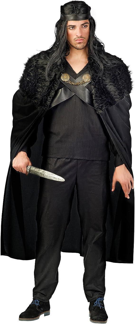 Disfraz de Guerrero de la Noche de Caballero Negro Disfraz ...