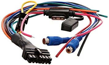 713lYOodgiL._SX355_ amazon com bazooka ela hp awk oem replacement wiring harness for wiring harness motorcycle at gsmx.co