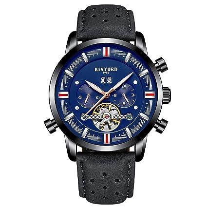 YUNDING Relojes, Relojes De Negocios De Alta Gama, Artesanía Suiza/Movimiento Mecánico De