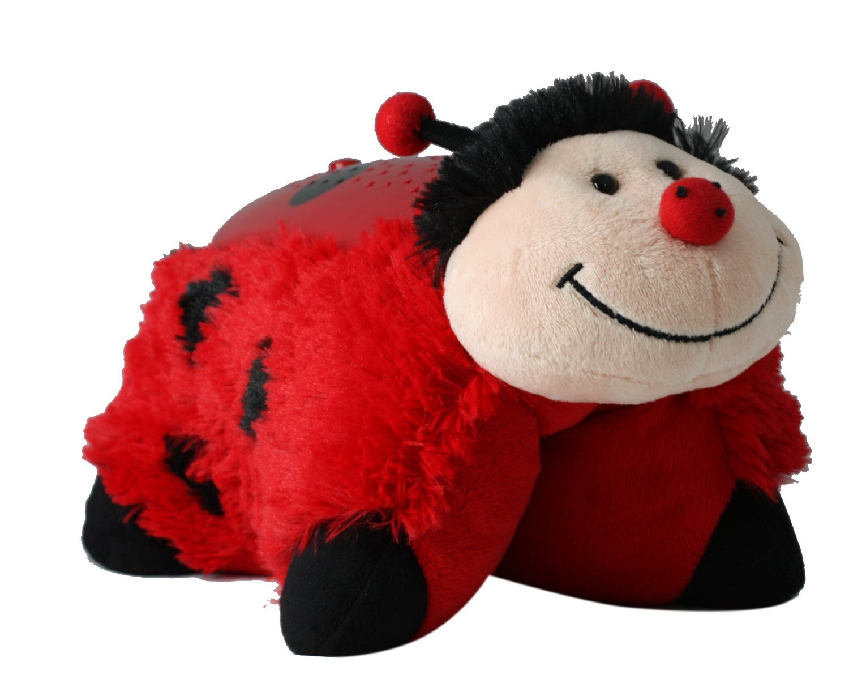 amazon com pillow pets dream lites ms ladybug 11