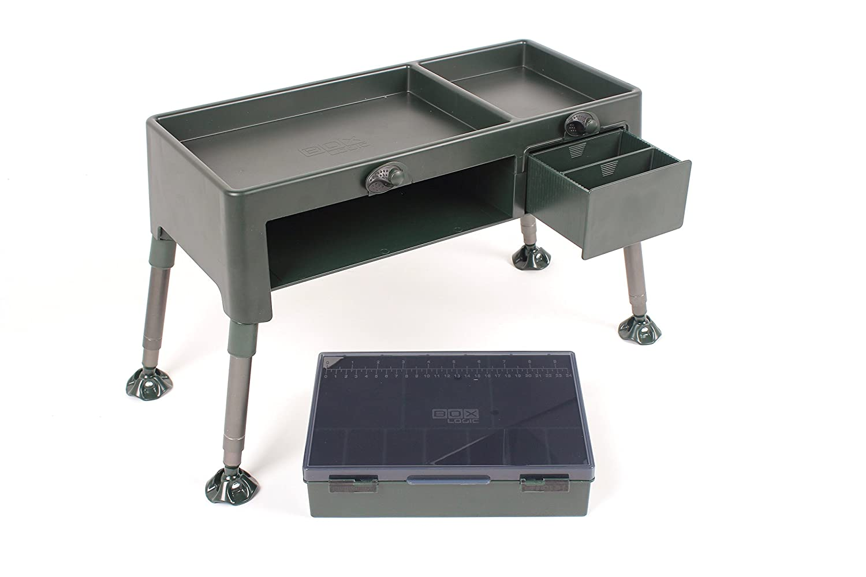 Nash Bivvy Box Table T0223 Tisch Angeltisch Angelbox Gerätebox Boxtable