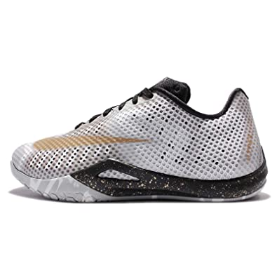 newest collection 959b6 b82c1 Nike Men s Hyperlive EP, WHITE METALLIC GOLD-BLACK-WOLF GREY, 10 M US,  Basketball - Amazon Canada