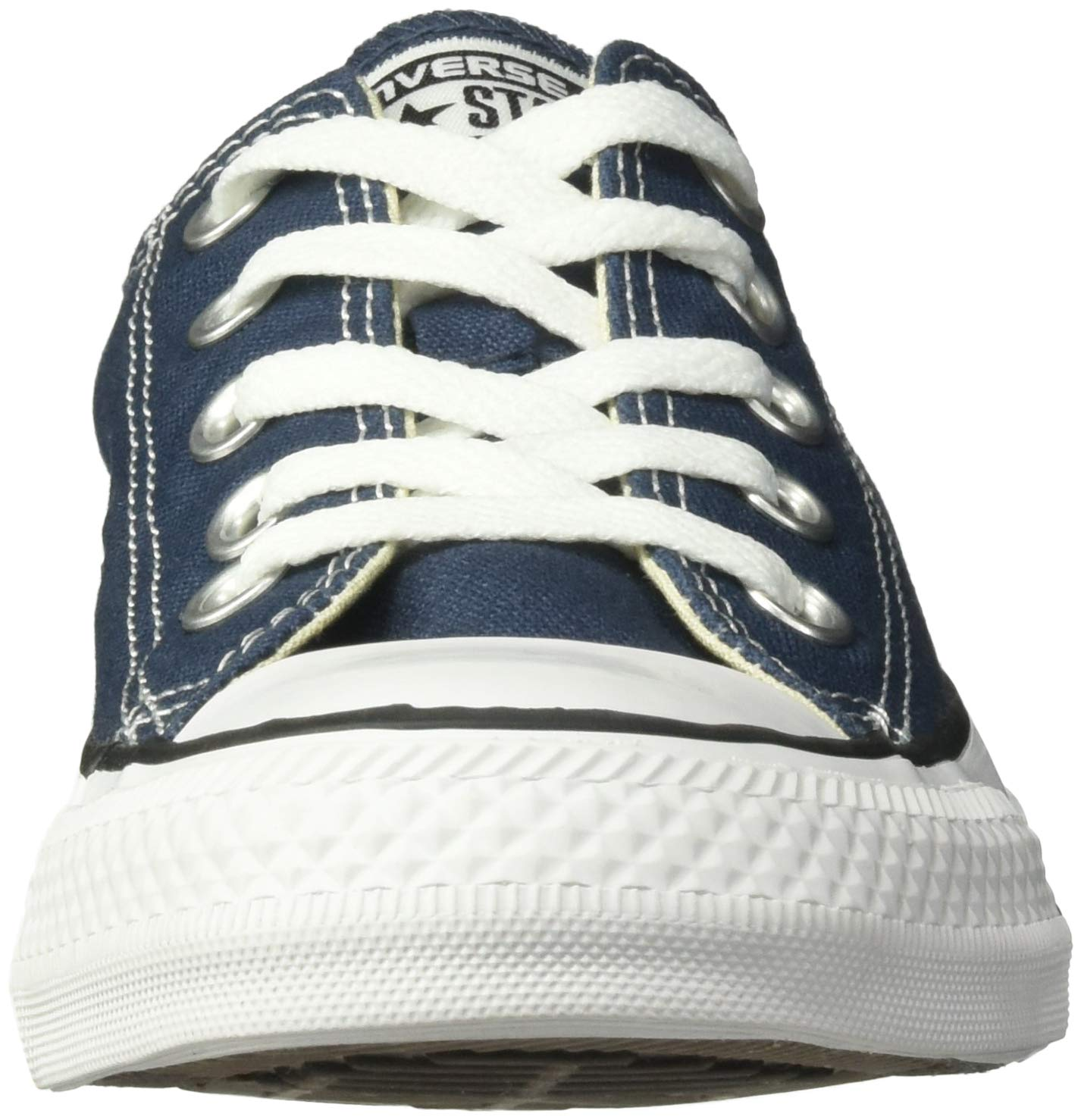 Converse Unisex Chuck Taylor All Star Low Top Navy Sneakers - 12MN-14WO B(M) US by Converse (Image #4)