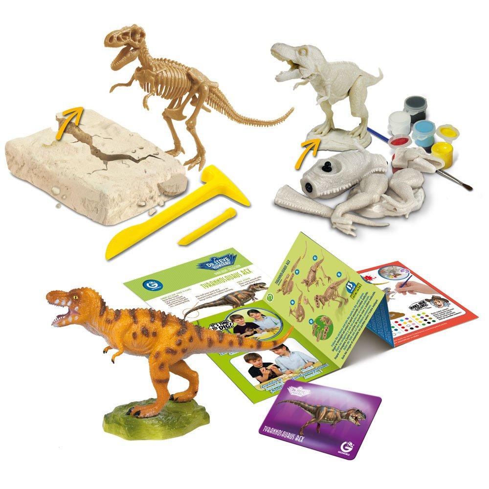 Uncle Milton Dr Steve Hunters-Dig - Build - Paint - Play - Scientific Educational Toy
