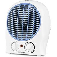 Orbegozo FH 5525 - Calefactor, 2 niveles de potencia, función ventilador aire frío, calor instantáneo, termostato…