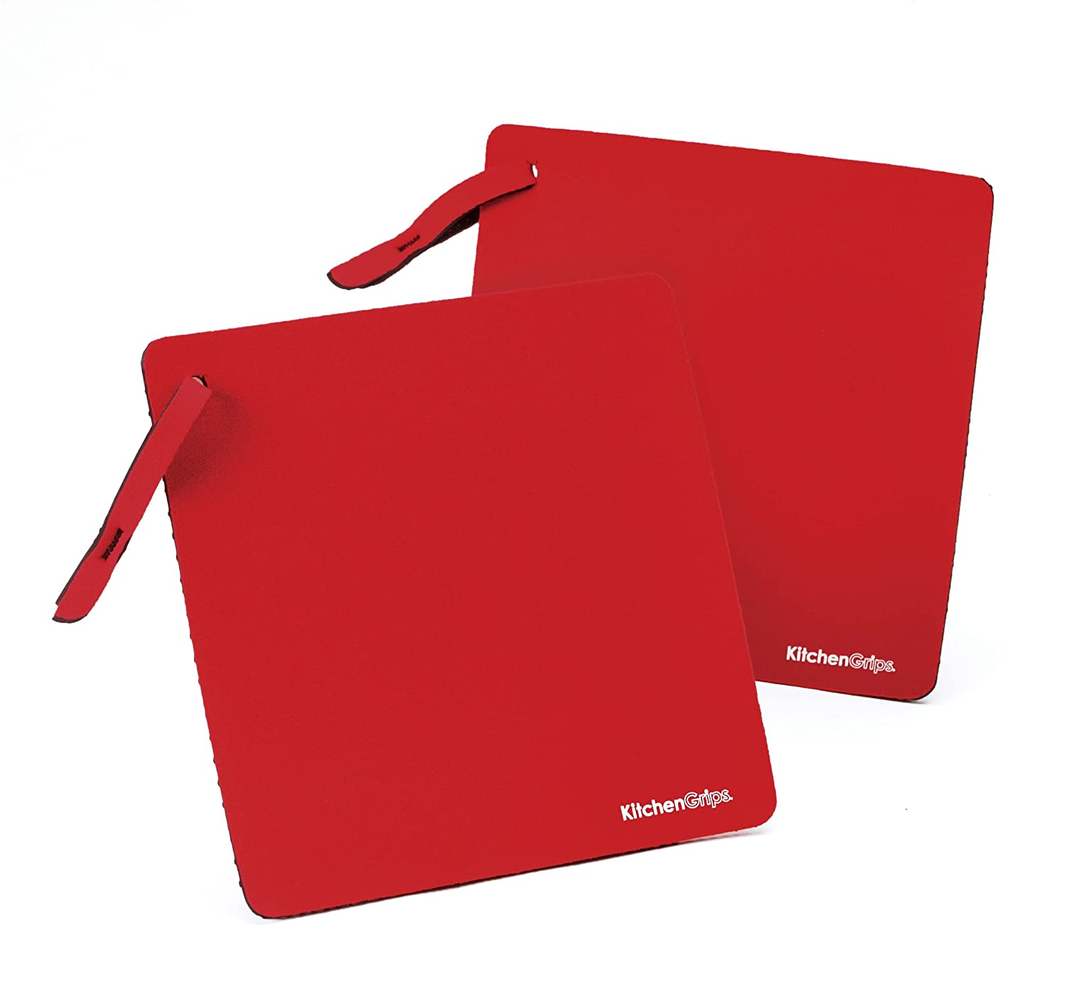 Good Amazon.com: KitchenGrips Single Layer Pot Grabber With Strap, Cherry, Set  Of 2: Kitchen Counter Mats: Kitchen U0026 Dining
