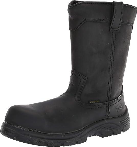 Avenger Men/'s   A7591 Hammer Internal Met Carbon Toe WP Work Boot Brown Full