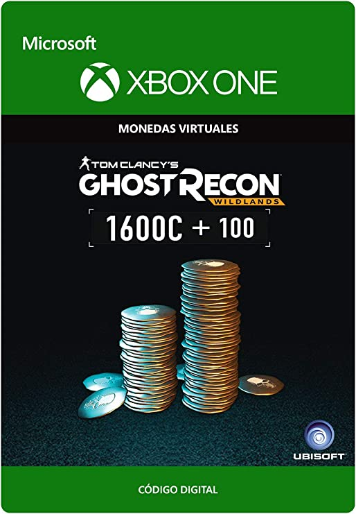 Tom Clancys Ghost Recon Wildlands Currency pack 1700 GR credits ...