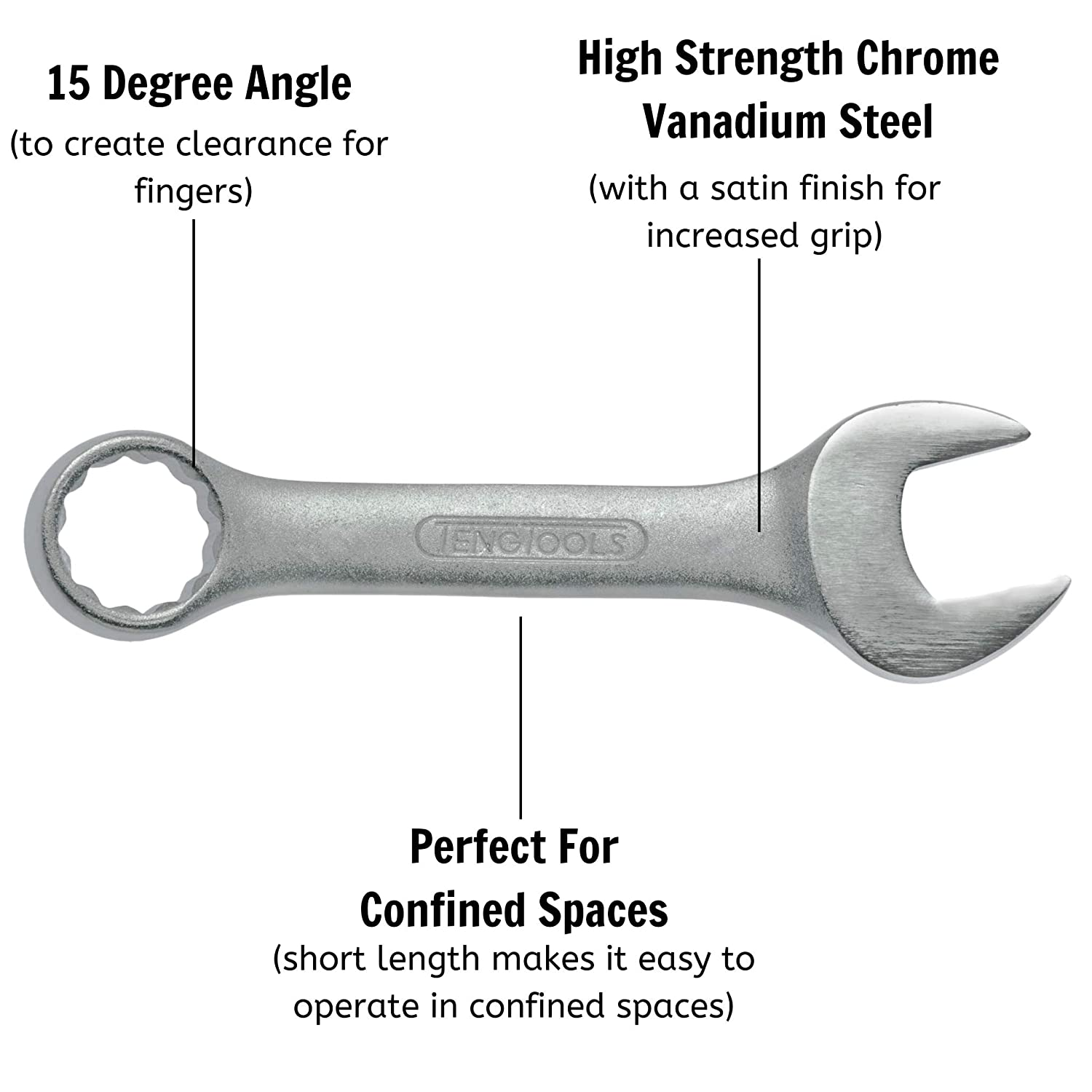 TengTools Combination Spanner extracorta 19/ mm