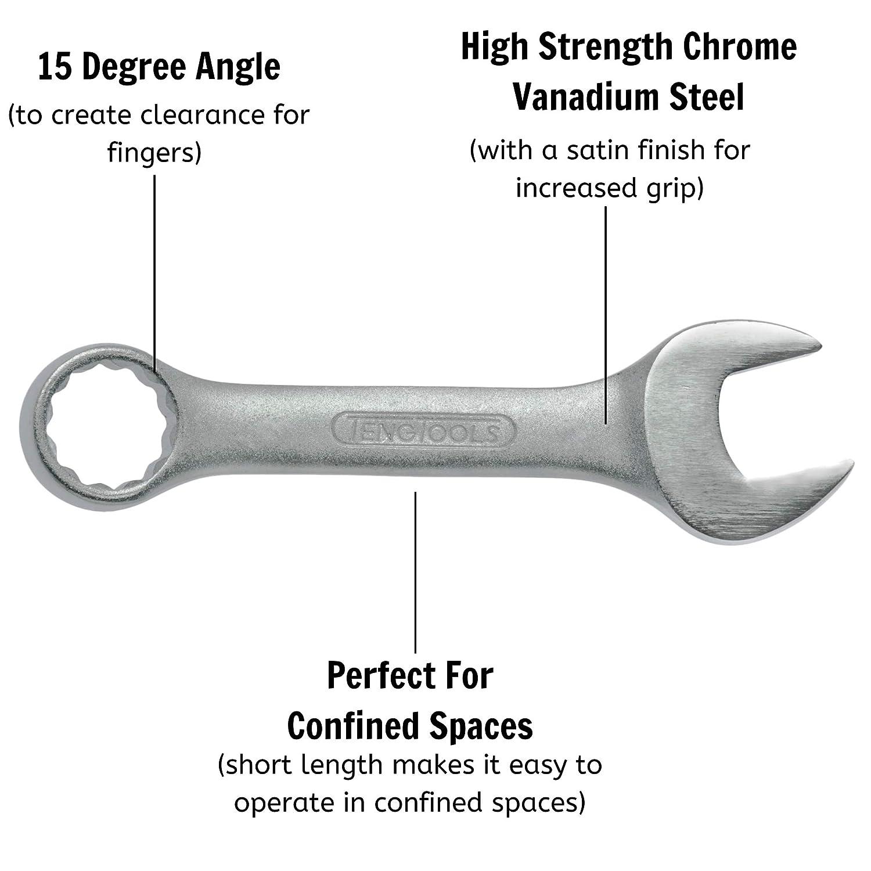 TengTools Combination Spanner extracorta 12/mm