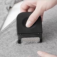 Annhao Brosse à Vêtements, Brosse Textile Anti-bouloches, Peigne à laine Anti-peluches (Noir)
