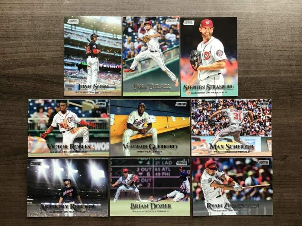 2019 Topps Stadium Club #261 Brian Dozier Washington Nationals Baseball Card