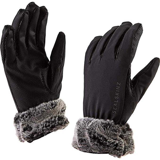 Sealskinz Damen See Leopard Wasserdichte Handschuhe