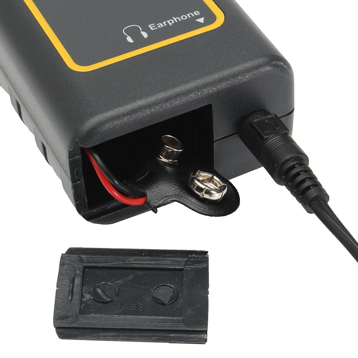KUNSE Estetoscopio electrónico Auricular Detector de Fugas de Agua Tubo de detección Equipo Kit: Amazon.es: Hogar