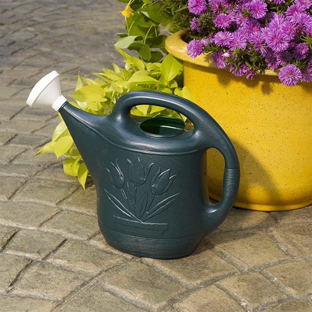 Novelty MFG 30301 Watering Can, 2-Gallon, Green : Watering Nozzles : Garden & Outdoor