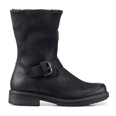 096608fe646382 Cox Damen Damen Winter-Boots aus Leder