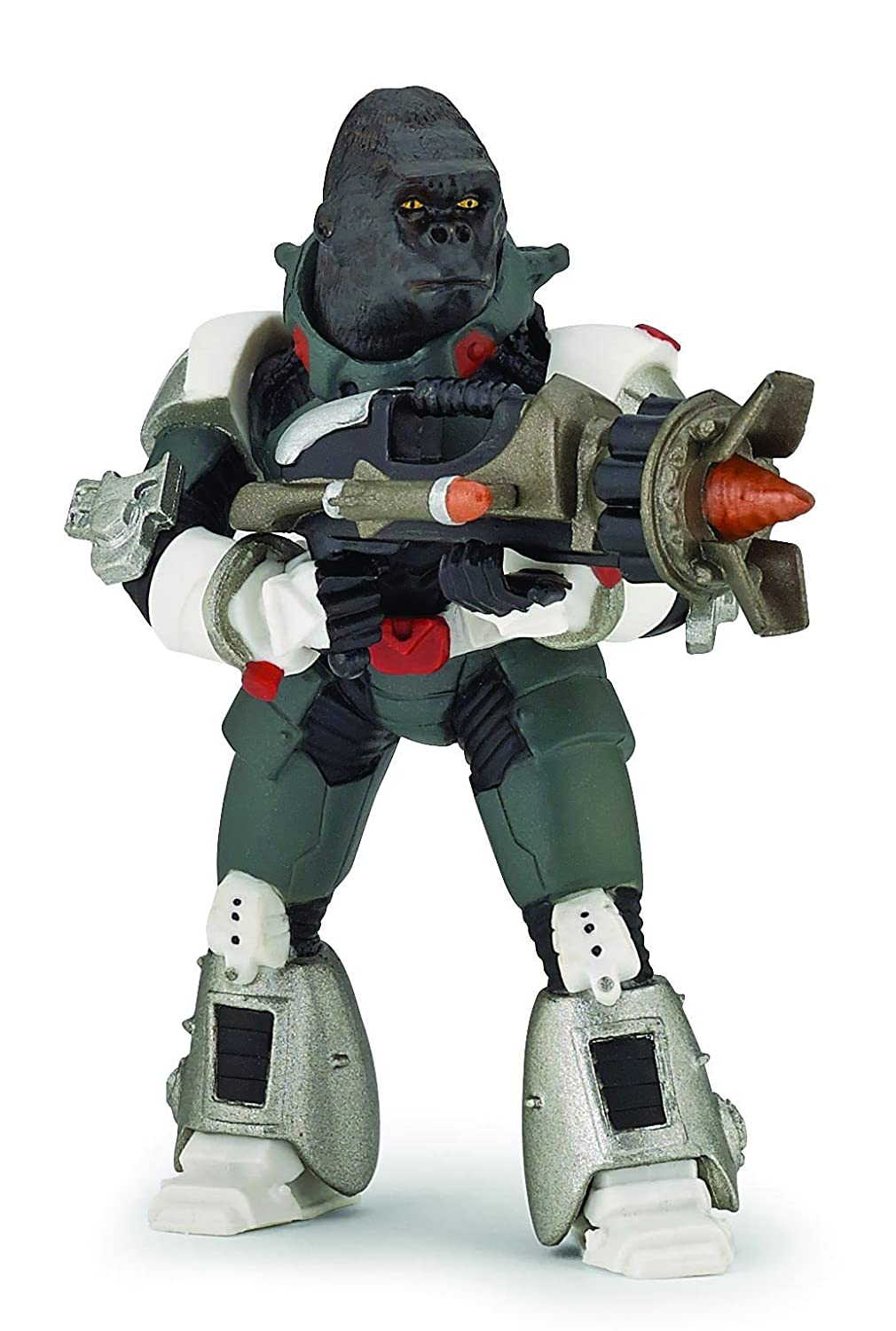 Papo Gorilla Warrior Toy Figure Hotaling 70124