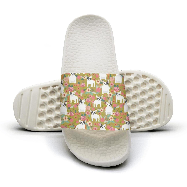 popular animal dog bulldog with roses Man fashion popular Summer Sandals Slides Mules Slippers