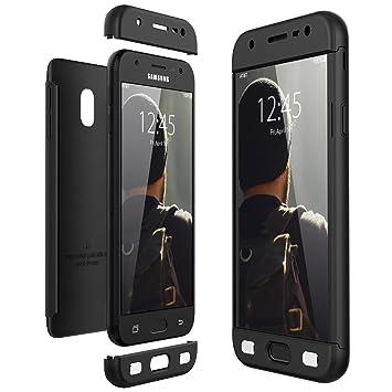 CE-Link Funda Samsung Galaxy J3 2017, Carcasa Fundas para Samsung Galaxy J3 2017, 3 en 1 Desmontable Ultra-Delgado Anti-Arañazos Case Protectora - ...