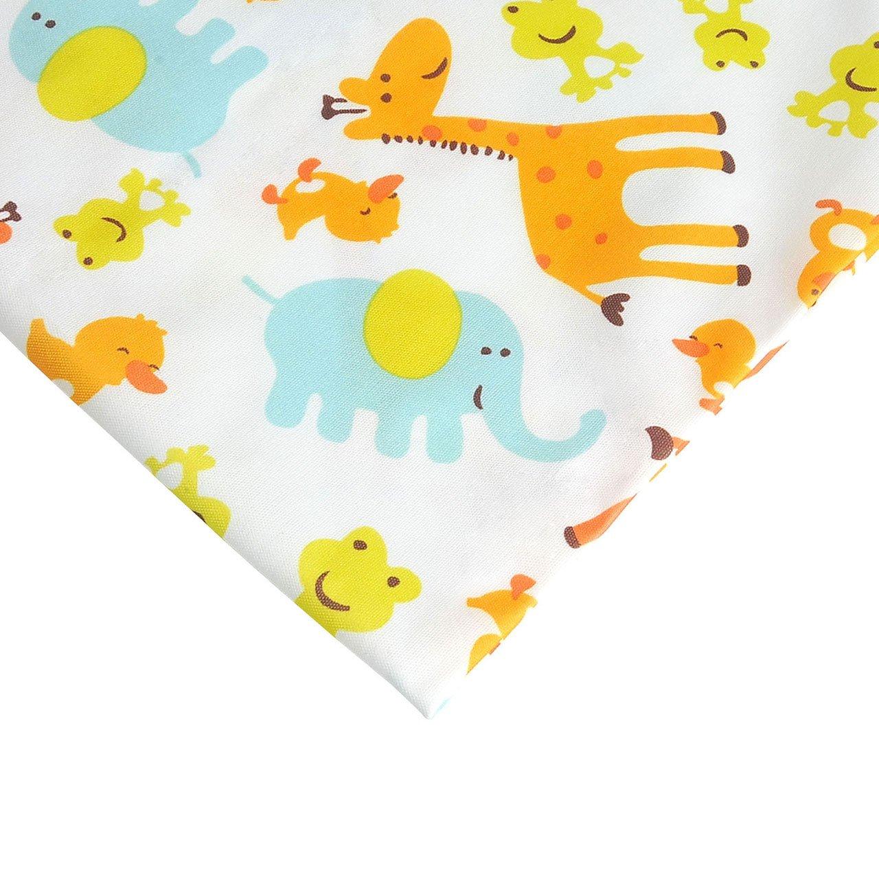 2 Bags Animals , 30cm*28cm CHIC DIARY Wet Dry Bag Baby Nappy Organizer Bag Reusable Washable Cloth Diaper Bag