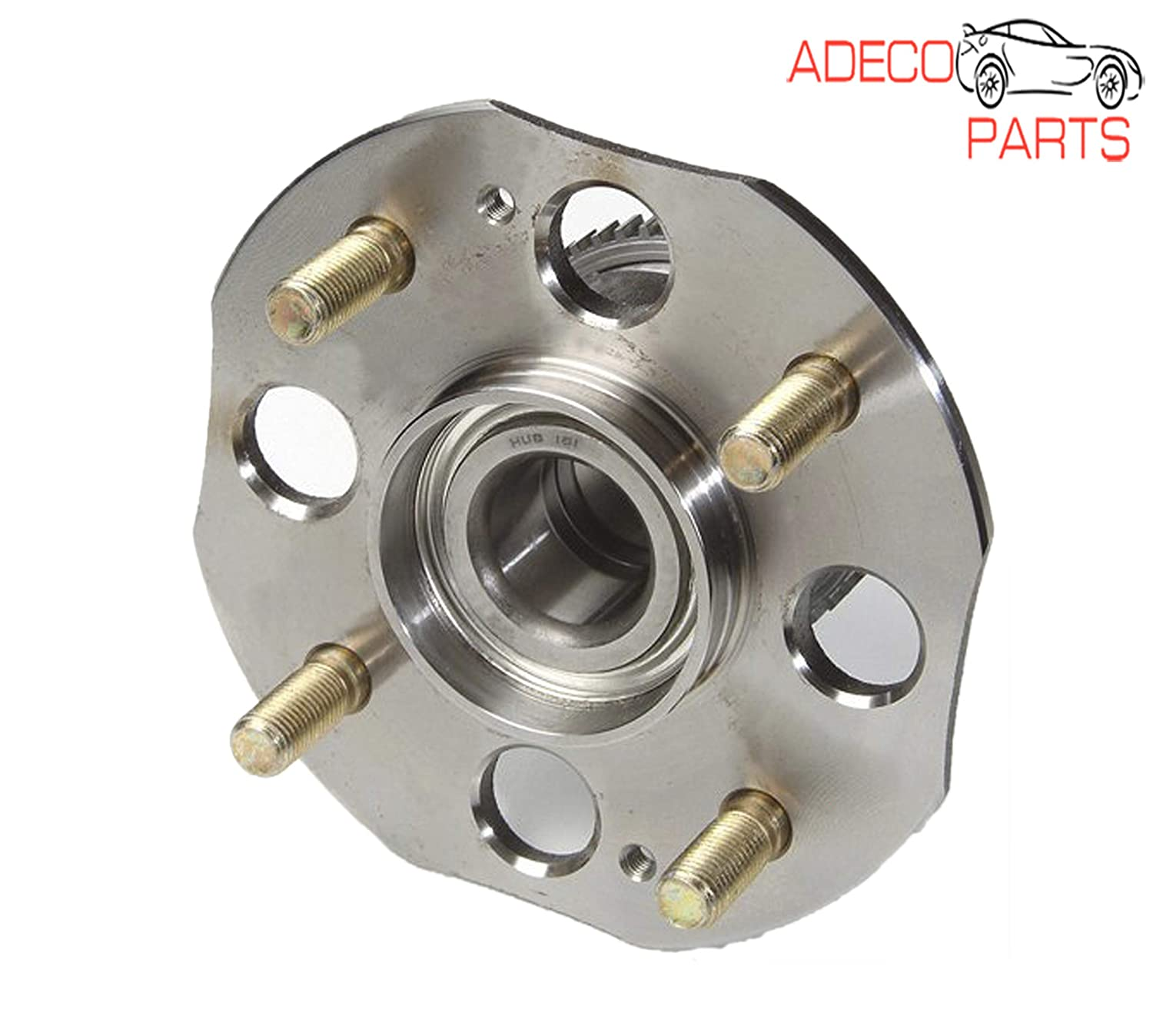 AdecoAutoParts/© 1 Rear Wheel Bearing /& Hub Assembly Replacement 512178 BR930276 for Honda Accord 1998 1999 2000 2001 2002 2.3L L4