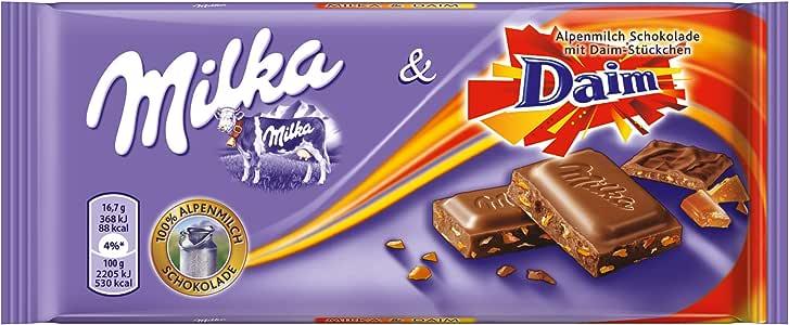 Chocolate Milka Daim | Chocolate con Daim Caramel | 100gr