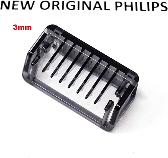 Nuevo Peine cortadora cortadora 3 mm para Philips ONEBlade One Blade afeitadora qp2510 qp2520 qp2521 qp2522 qp2530 qp2531 qp2620 qp2630 422203626141: Amazon.es: Salud ...