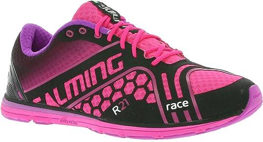 Salming - Zapatillas de Running para Mujer Negro/Rosa: Amazon.es: Zapatos y complementos