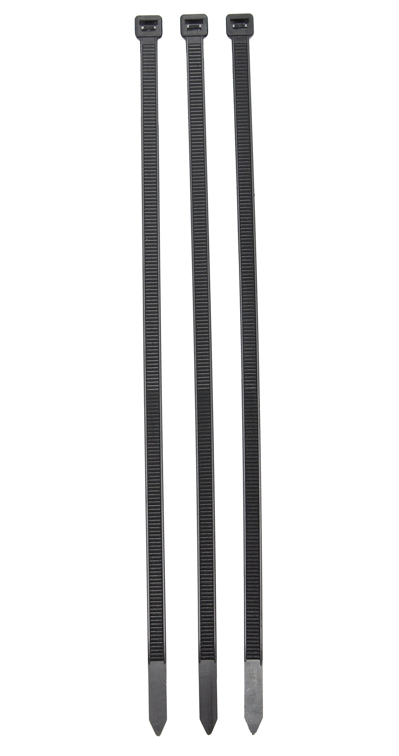 KickSpark Cable Ties Heavy Duty | 8 Inch Self Locking Nylon Zip Ties (100 Pack) | 122lbs Tensile Strength - Extra Durable | Weatherproof/UV Resistant | Wire/Cord Management by KickSpark (Image #2)