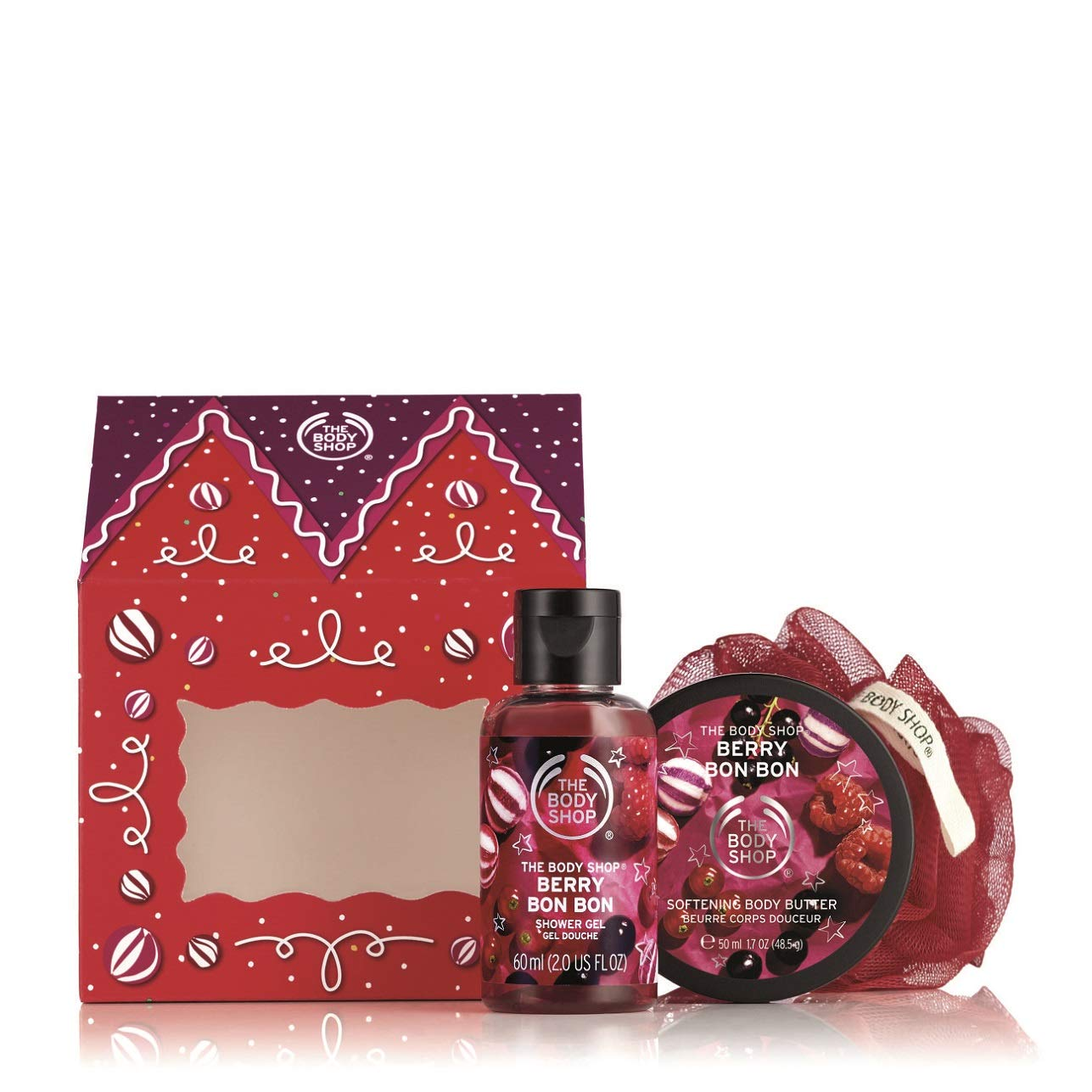 The Body Shop House of Berry Bon Bon Delights Gift Set