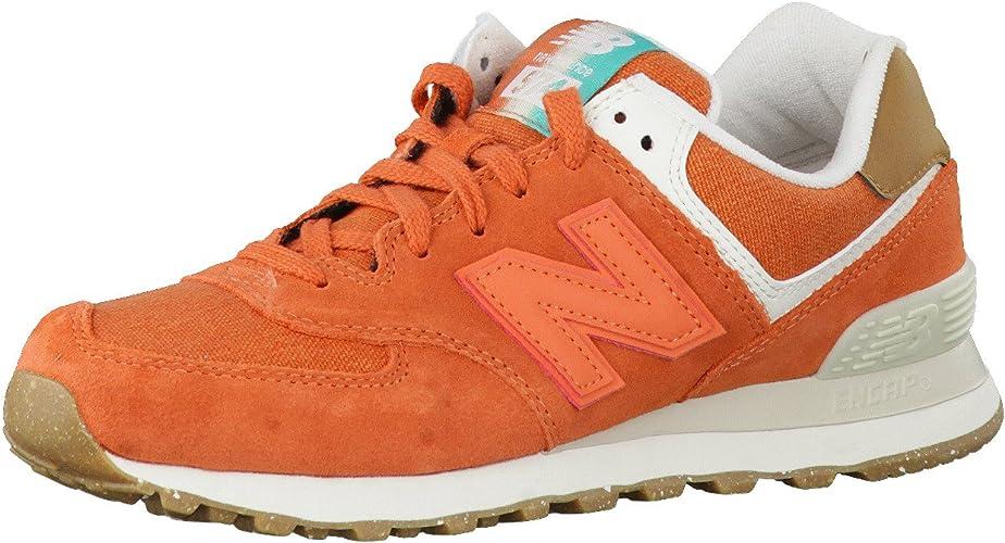 new balance orange femme