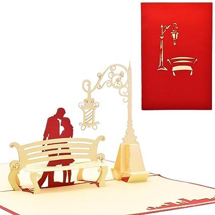 Yolopop handmade romantic couple anniversary gift greeting card yolopop handmade romantic couple anniversary gift greeting card for boyfriend girlfriend love m4hsunfo Gallery