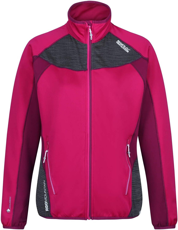 Regatta Yare Damen Softshell-Jacke mit Warmer R/ückseite Extol Stretch