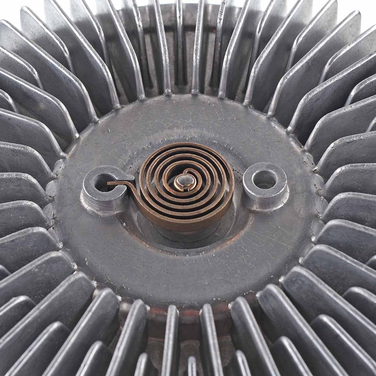 A-Premium Engine Cooling Fan Clutch for Dodge Ram 1500 2500 3500 2003-2004 V8 5.7L OHV Standard Transmission W//AC