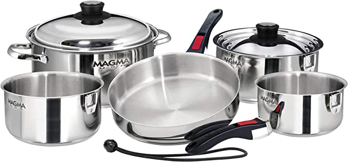 Magma Nesting Pots and Pans
