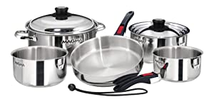 5 Best Cookware Sets For Gas Stoves In 2020 - In-Depth Reviews 6