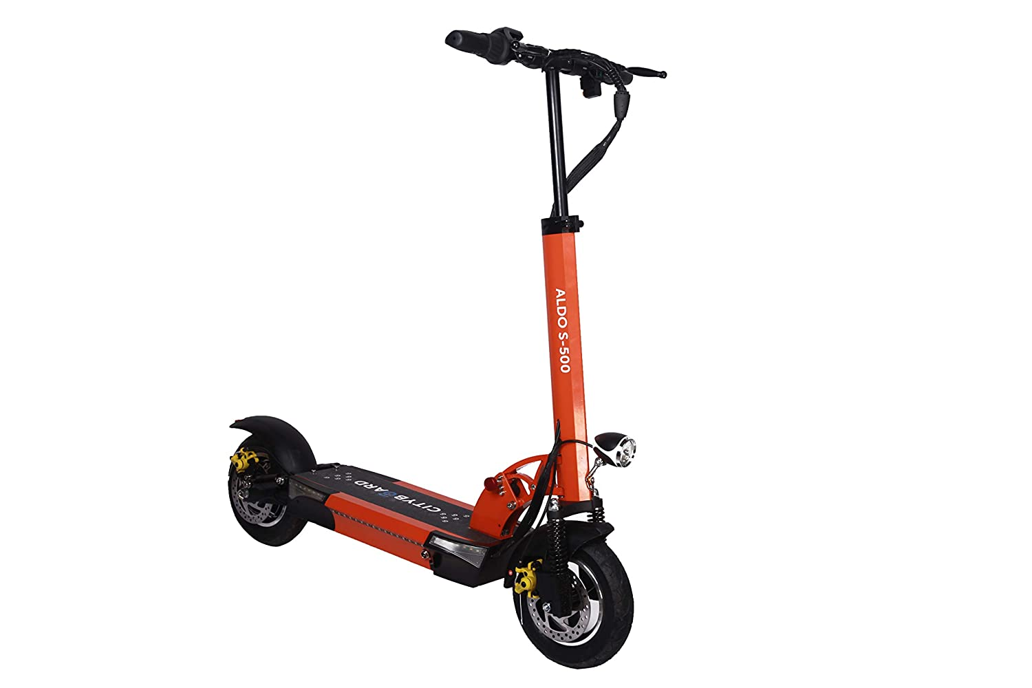Cityboard Aldo S500 Patinete Electrico, Juventud Unisex, Orange Country, Adulto