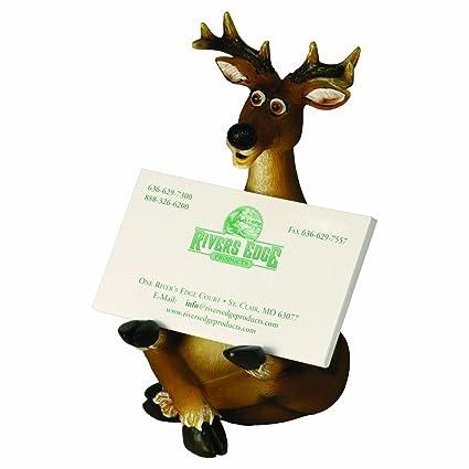 Amazon rivers edge deer business card holder brown hunting rivers edge deer business card holder brown colourmoves