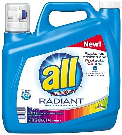 Amazon.com: Todos los stainlifters – Detergente (radiante ...