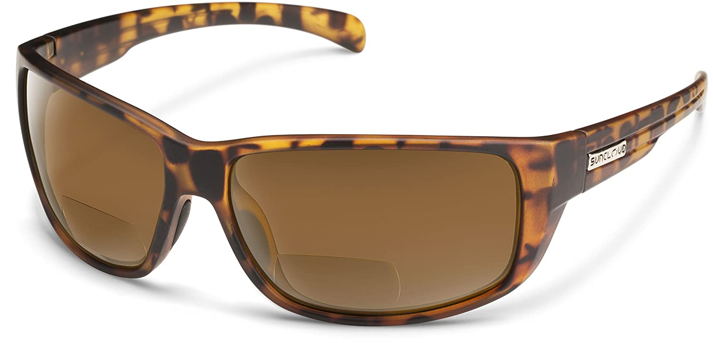 8eb1b816863f Amazon.com: Suncloud Milestone Polarized Bi-Focal Reading Sunglasses in  Matte Black +1.50 (BONUS FREE HARDCASE): Clothing