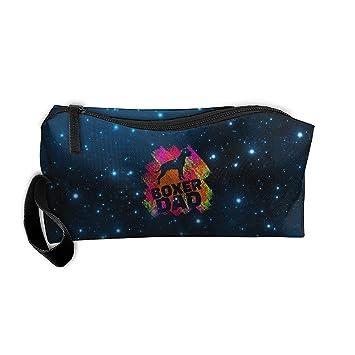 12c286ab5e Amazon.com   Boxer Dog Dad Father Travel Toiletry Bag Pencil Bag Organizers    Beauty