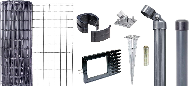 GAH-Alberts Set Fix-Clip Pro 10 m // 1530 mm gr/ün zum Aufschrauben