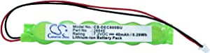Cameron Sino 40mAh Battery for DELL Inspiron 3700, Inspiron 3800, Inspiron 8000, Inspiron 8100, Inspiron 8200, Latitude C800, Latitude C810