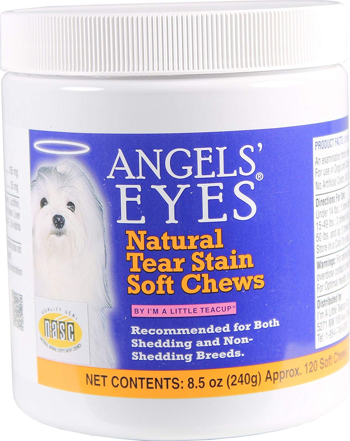 ANGELS' EYES 1,390 Count Natural Chicken Formula Soft Chews for Dogs (Packaging May Vary) (1,390 Count)